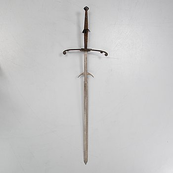 A two-hand sword, end of the 19th Century.