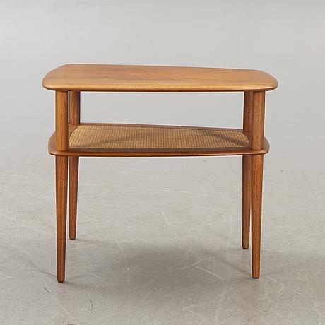 Peter hvidt & orla mølgaard nielsen a teak table france & söner denmark 1960s.