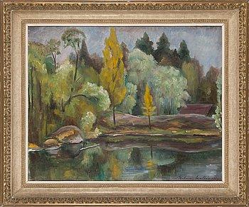 Kalervo Kallio, oil on canvas, signed and dated 1946.