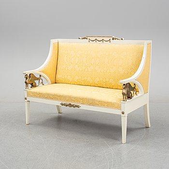 An Empire style sofa, circa 1900.