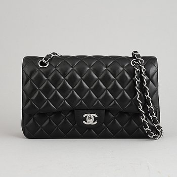 CHANEL, a 'Double Flap' quilted leather handbag, 2013-4.