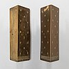 Paavo tynell, a pair of mid-20th century '10330' wall lamps for taito, finland. mid-20th century.