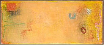 Robert Natkin, oil on canvas, staped and numbered verso.