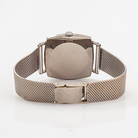 Omega, de ville, wristwatch, 30 x 30 mm.
