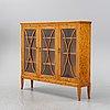 A swedish grace birch display cabinet, 1920's.