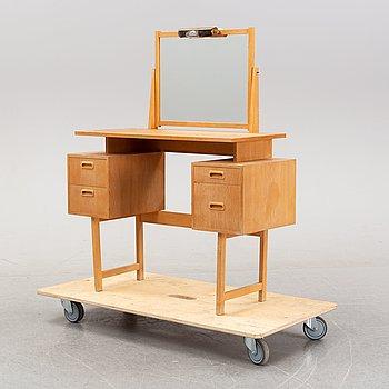 An oak dressing table, Glas&Trä, 1961.