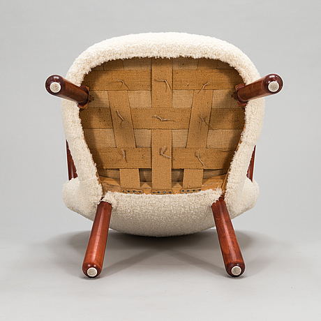 Arnold madsen, probably, 'clam chair'. designed c. 1944.