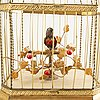 A mechanical birdcage first half of the 20th century.