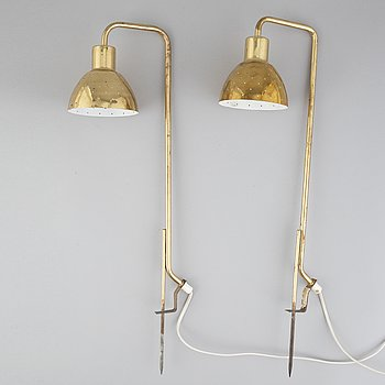 A pair of 'G98' flower lamps by Hans-Agne Jakobsson, Markaryd, 1960's.