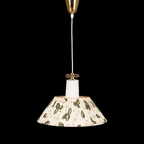 Paavo tynell, a mid-20th-century 'k3-44' pendant light for idman.
