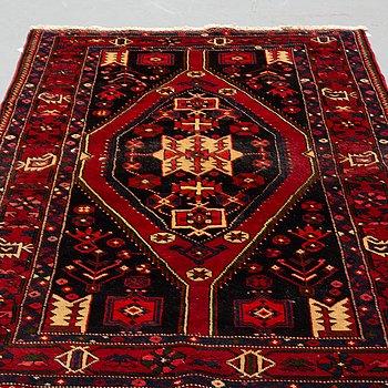 A carpet, Old Hamadan, ca 213 x 136 cm.