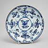 A group och chinese porcelain, qing dynasty, 18th century.