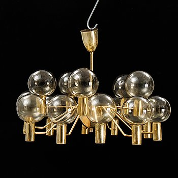 Hans-Agne Jakobsson, a 'Patricia' /modell T372/15 ceiling lamp, Markaryd, second half of the 20th century.
