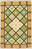 Anne-marie boberg, a carpet, flat weave, ca 201 x 134 cm, signed amb.
