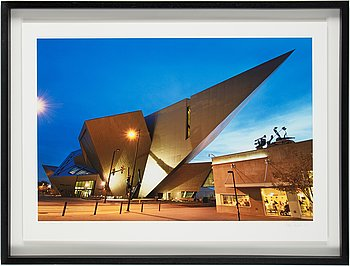 Håkan Ludwigson, photograph signed and numbered 1/25 dated 2010.