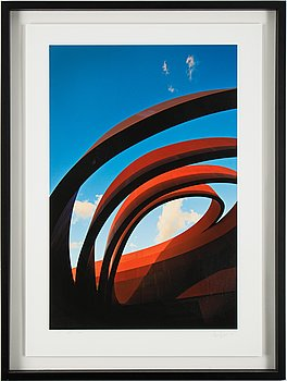 Håkan Ludwigson, photograph signed and numbered 2/25.