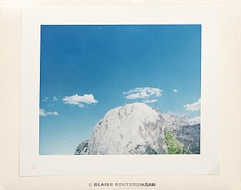 Blaise Reutersward, photography signed and dated 1999.