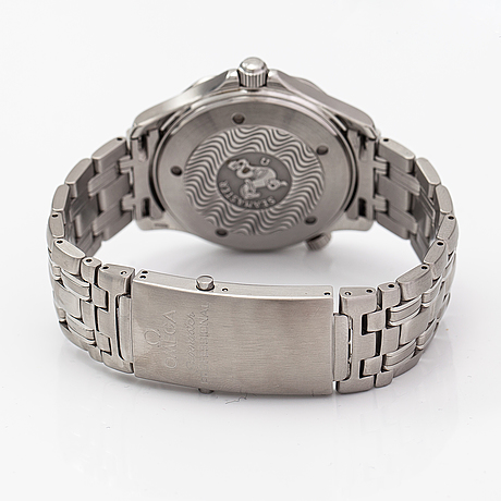 Omega, seamaster, professional, 300m, wristwatch, 41 mm.