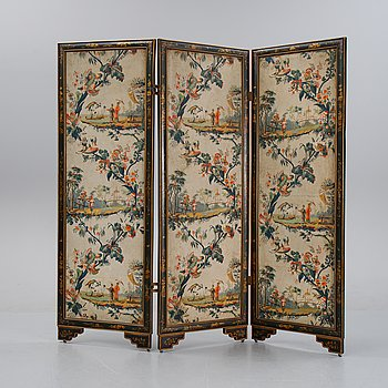 A folding screen from the first half of the 20th century.