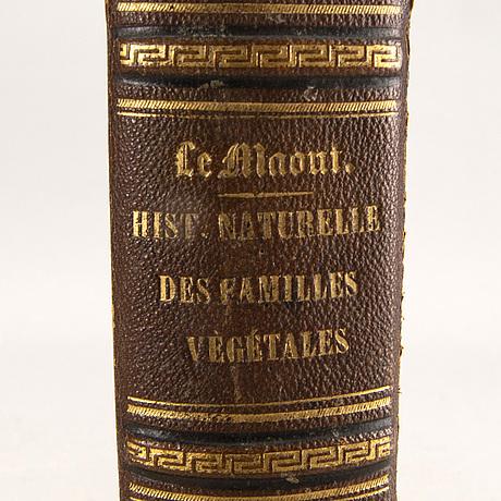 Emmanuel le maout, book 'botanique. organographie... histoire naturalle', paris 1855.