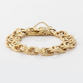 Armband 18K guld bismarck.