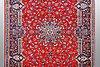 A carpet, kashan 353 x 244 cm.