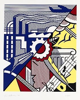Enkelt Lichtenstein