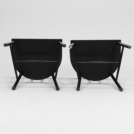 Eight 21st century chairs.