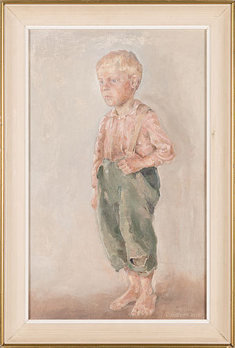 Eeli jaatinen, oil on canvas, signed and unclearly dated.