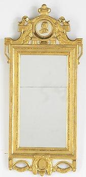 Spegel, gustaviansk, 1700-talets senare del.