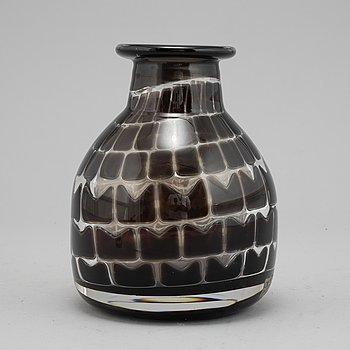 Ingeborg Lundin, an 'Ariel' glass vase, Orrefors.