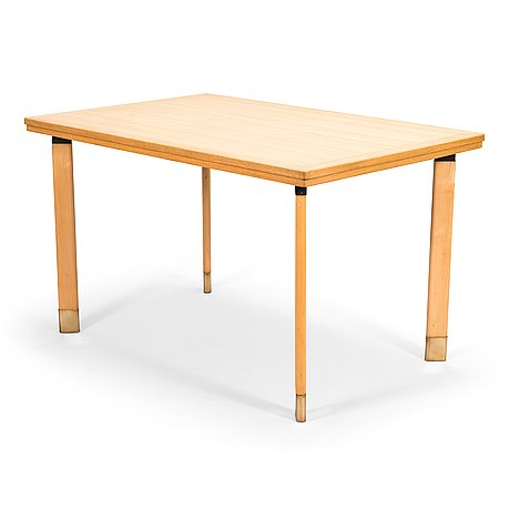 Alvar aalto, a dining table made to order for sii in 1956.