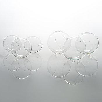 Timo Sarpaneva, Six 1960/1970's 'Sun balls' for Iittala.