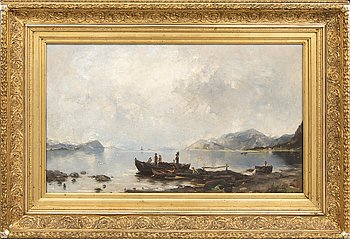 Georg Anton Rasmussen, copy after, an oil on canvas, unsigned.