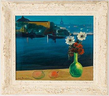 Bertel Bertel-Nordström, oil on canvas, signed and dated 1945.