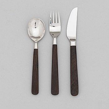 Bertel Gardberg,  A 44-piece set of 'Lion de Luxe' cutlery, Hackman / Sorsakoski, Finland.