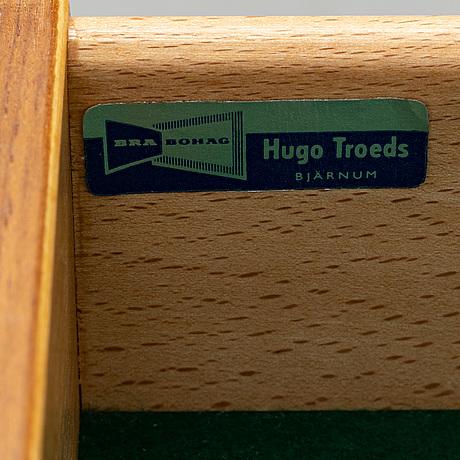 A teak sideboard, bra bohag, hugo troeds, bjärnum, 1960's/70's.