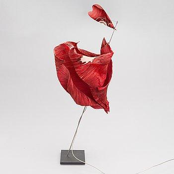 "A table lamp ""Kokoro"" by Ingo Maurer, 1990s."