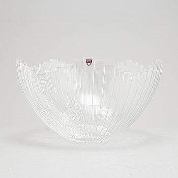 Jan Johansson, a glass bowl, Orrefors.