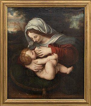 Okänd konstnär 1600/1700-tal , oil on canvas.