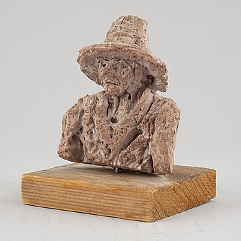 Evert Lindfors, sculpture, earthenware, signed and dateed 1996 under the base.