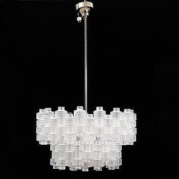 Gert Nyström, a 'Festival' nine-light ceiling light from Fagerhult.
