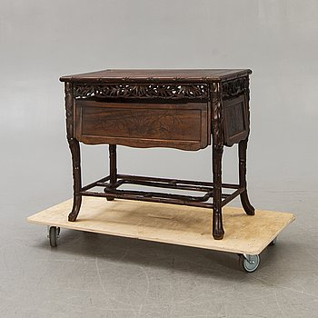 An Asian 20th century serving table.