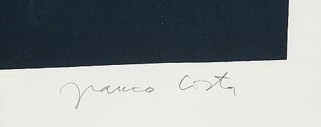 Franco costa, silkscreen in colours, signed 213/250.