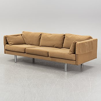 Erik Ole Jørgensen, a 'EJ 220' three seat sofa, designed in the 1970's.