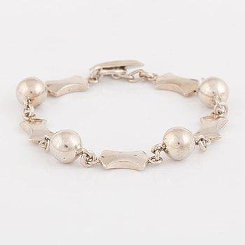Arvo Saarela, silver bracelet.