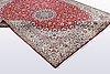 A carpet, kashmir silke, ca 341 x 241 cm.