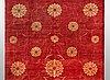 A carpet, oriental, ca 524 x 367 cm.