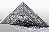 A carpet, nain, part silk, ca 202 x 148 cm.