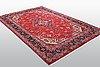 A carpet, tabriz, ca 296 x 196 cm.